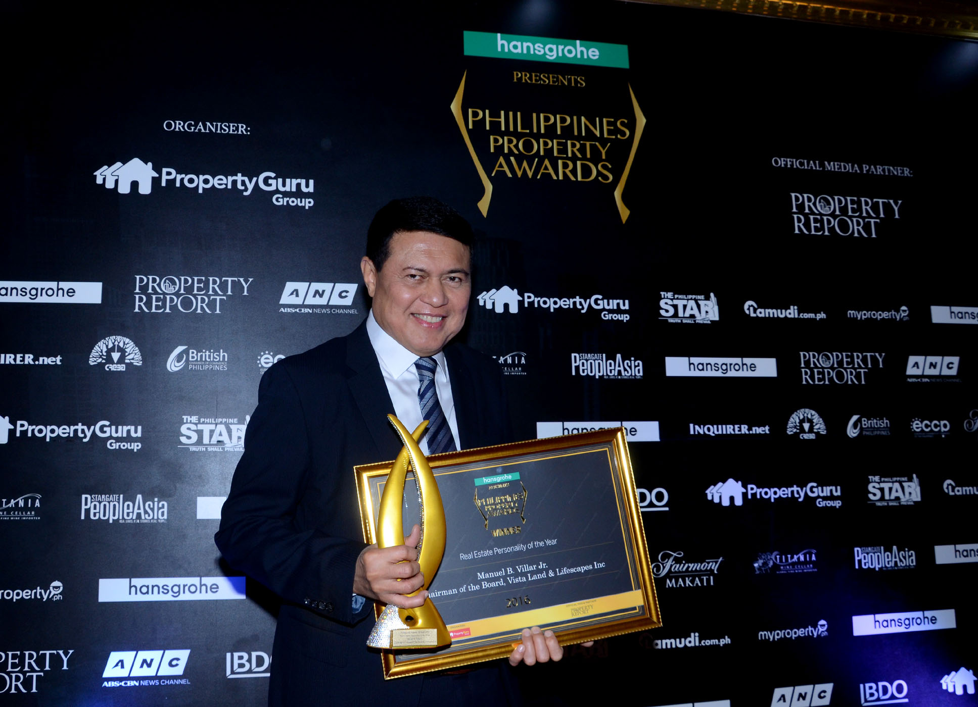 PHILIPPINES PROPERTY AWARDS Real Estate Personality of the Year 2