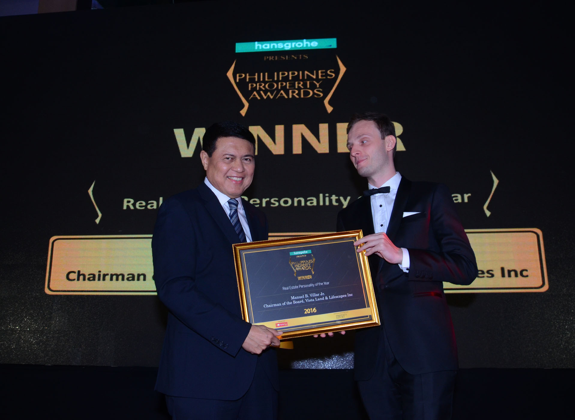 PHILIPPINES PROPERTY AWARDS Real Estate Personality of the Year